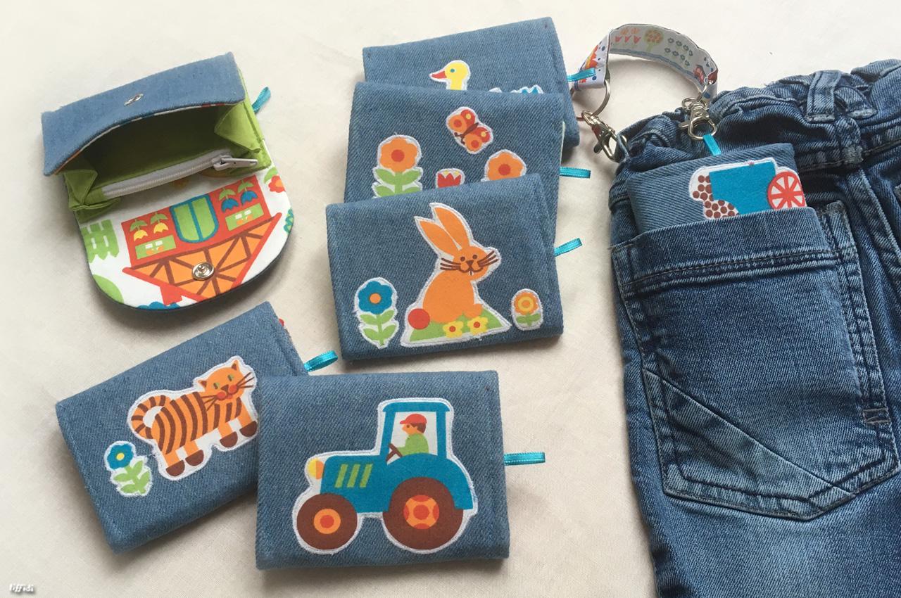 Geldbeutel für Kinder – freeBook | tiffidi – Nähen – Familie – DIY