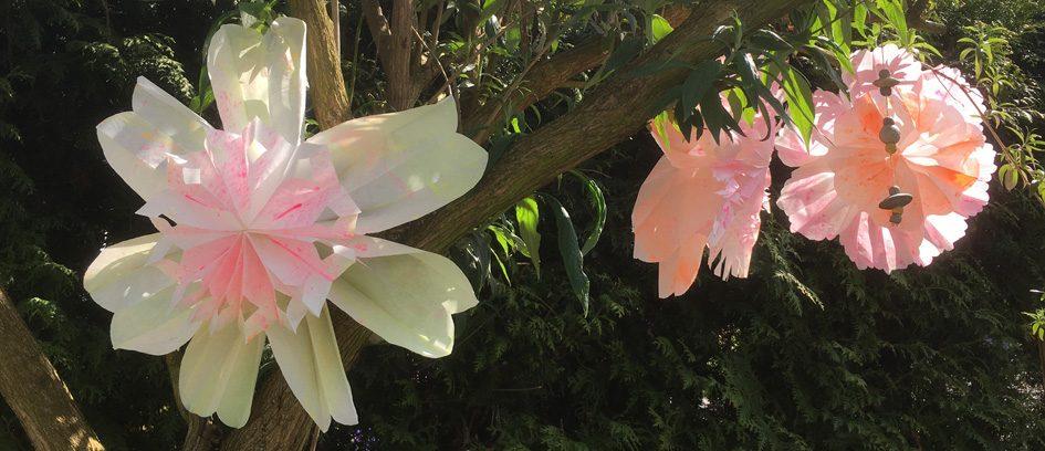 Blumen Aus Butterbrottüten Tiffidi Nähen Familie Diy